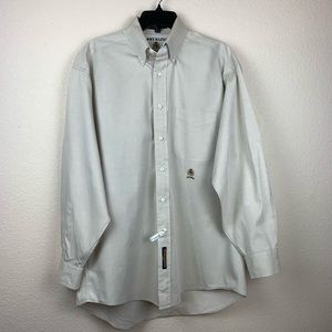 Tommy Hilfiger Long Sleeve Tan Shirt 15 1/2 32-33